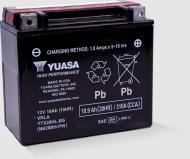 Акумулятор автомобільний Yuasa High Performance MF VRLA Battery AGM 18,9А 12 B YTX20HL-BS