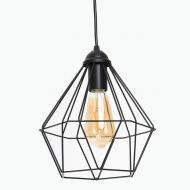 Светильник подвесной Crystal P235 Черный (1336)