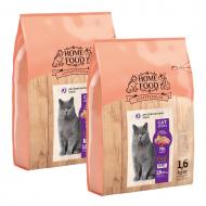 Набір корму HOME FOOD для дорослих котів британських порід 1,6 кг 2 шт