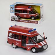 Пожежний мікроавтобус Play Smart зі світлом і звуком сирени (041637)