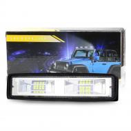 Фара LED прямокутна 48W 16 ламп 10/30V 6000K