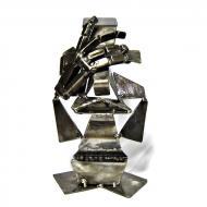 Фигура металлическая Не вижу 20,5х12,5х16 см МС-012