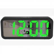 Часы настольные электронные с термометром от батареек (VST 6508)