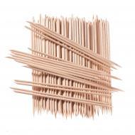 Палички для манікюру апельсинові 15 см 100 шт средні