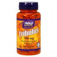 Бустер тестостерону Now Tribulus 500 mg 100 капс Без смаку
