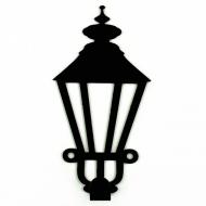 Крючок настенный Glozis Lamppost H-022 13х9 см