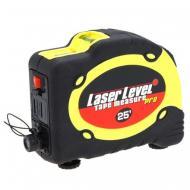 Лазерний рівень Laser Level tape measure pro LV-07 з рулеткою 7,5 м