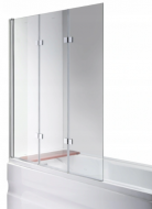 Скляна шторка для ванни AVKO Glass Frosted A542-7 140х120 см