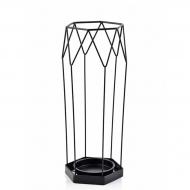 Подставка для зонта металлическая Flora 45 см Черный (30249)