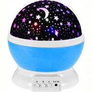 Нічник-проектор Зоряне небо Star Master Dream QDP01 Блакитний