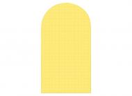 Чохол для зберігання одягу 130х60 см Жовтий