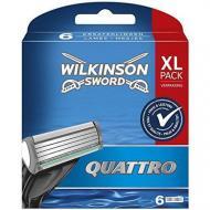 Картриджі для гоління Wilkinson Quattro XL pack 6 шт