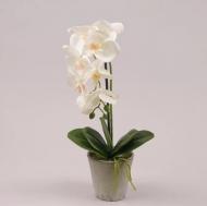 Искусственная Орхидея в горшке Flora 43 см (72679)