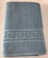 Полотенце махровое 70х140 см 400 г/м2 Голубой