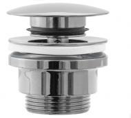 Донный клапан Rea с системойclick-clack универсальный Хром (REA-A5217)