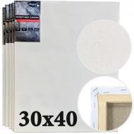 Набір полотен середнє зерно італійська бавовна Monet 30x40 см 5 шт. (MP3113040)