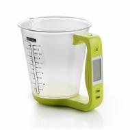 Электронные мерная чаша с термометром и весами Easy Cook 600 мл