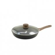 Сковорода Vincent С крышкой Алюминий 28 см (4463-28)