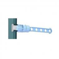 Вішак-органайзер для 5 плічок Hoz 31,5 см Блакитний (MMS-TL00138)