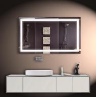 Led зеркало DecorLed с подсветкой в ванную комнату 1200x700 (ZSD-029)
