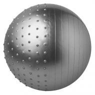 Фітбол комбі 75 см сірий