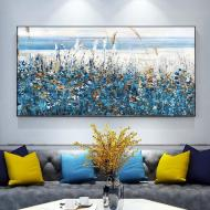 Картина на холсте ArtSale Пейзаж 50х100 см ntrl0007