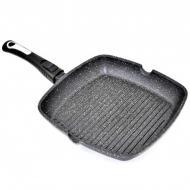 Сковорода-гриль с крышкой Benson BN-314 мраморное покрытие (ТЕ258639)