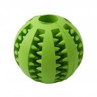 Игрушка мяч жевательный резиновый для собак Pipitao 026631 7 см Green