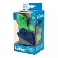 Пустушка Dr. Brown's з іграшкою Черепаха 0-12 міс 1 шт Блакитний