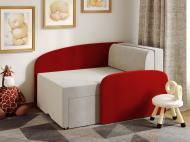 Міні-диван трансформер Viorina-Deko Smile 06 Червоний/Білий