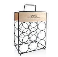Подставка для вина металлическая Flora 30698