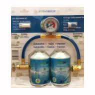 Набір Eco Freeze для заправки автомобільного кондиціонера 340 ml ECO134 (= 2,7R134)