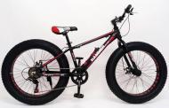 Гірський велосипед S800 Hammer Extrime Фет Байк алюмінієва рама 15 Червоний