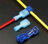 Набір клем обтискних з ізоляцією T-образні для швидкого монтажу 10 шт (5 комплектів) (3242321)