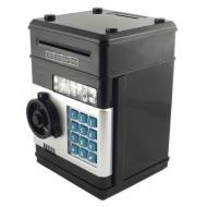 Электронная копилка Сейф банкомат с кодовым замком и купюроприемником