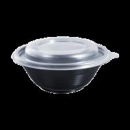 Контейнер одноразовый герметичный для первых блюд Альфа Пак ПП-117 350 мл 60 шт/уп