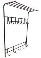 Вешалка настенная КР Бордовый (4185292)