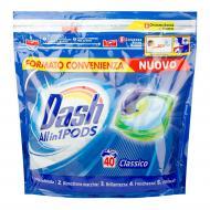 Гель-капсули для прання 3в1 Dash Classico 40 прань
