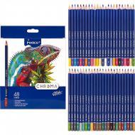 Олівці кольорові Marco Chroma 48 кольорів (8010-48CB)