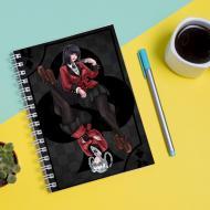 Скетчбук Sketchbook для малювання з принтом Kakegurui-Божевільний азарт 3