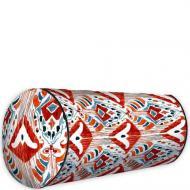 Подушка валик Бордовый узор 42x18 см (PV_CASA006)