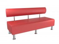 Диван офісний BNB Mini 150 см Червоний