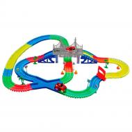 Дитячий набір машинок з треком Supretto 360 деталей (5486)