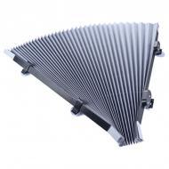 Шторка на присосках для авто сонцезахисна Vehicle Shade 145х65 см Сірий (1008600-Gray)