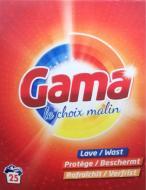 Пральний порошок Gama 3в1 Універсальний 1,625 кг 25 прань (807490)