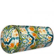 Подушка валик Разноцветный этно узор 42x18 см (PV_FLORA002)