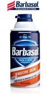 Крем-піна для гоління Barbasol Sensetive Skin для чутливої шкіри 283 г (051009009600)