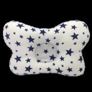 Подушка ортопедическая Сладкий Сон Звездопад 18х30 см Белый