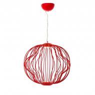 Люстра подвесная LED Light House ES-15846/BR Красный