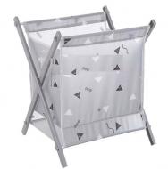 Кошик для білизни Laundry Storage Basket Сірий